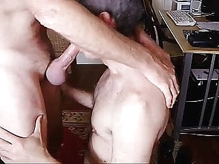 Gay Daddies Like To Fuck Bare Too! man (gay) gay porn (gay) bareback (gay)