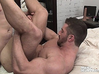 Marko rams bulky muscled bottom Christian's ass mercilessly 2:00 2014-06-13