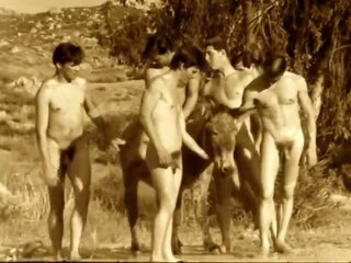 1960's Vintage Male Nudism Compilation gay group sex gay hd gay hunk