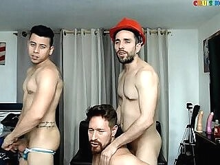 Group friends free sex party live on Cruisingcams.com group gay