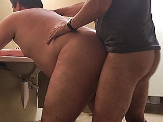 Side view restroom fuck amateur (gay) bareback (gay) bear (gay)