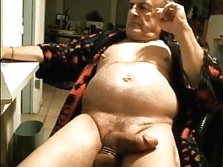 Hard nipples grandpa with hot cock and belly 1:59 2015-05-01